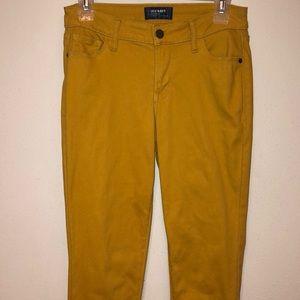 Old Navy Mustard jeans